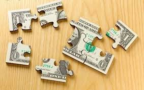 jigsaw puzzle money
