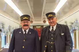 two old fashioned looking conductors
